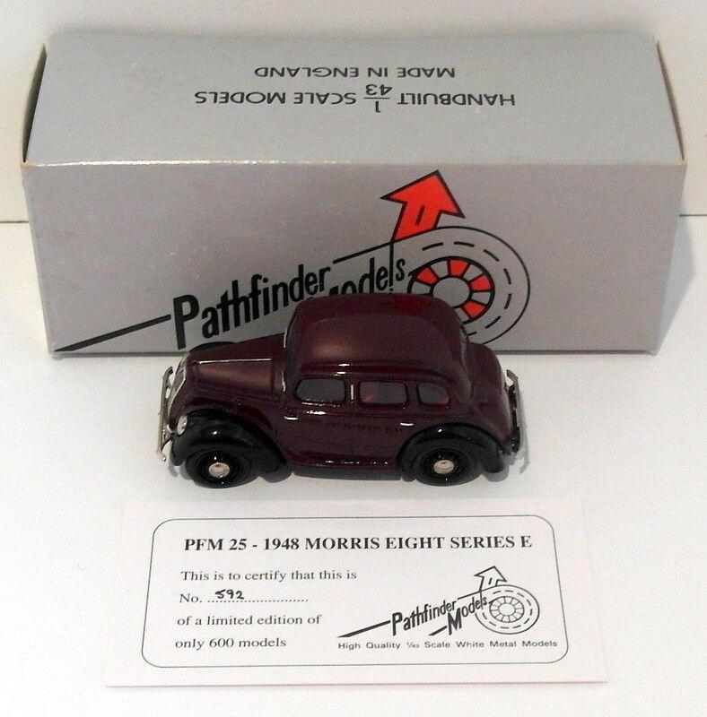 Pathfinder MODELS échelle 1/43 PFM25 1948 Morris huit Série E E E 1 de 600-Marron   Moderne Et élégant à La Mode    Dans De Nombreux Styles    Des Performances Fiables  0c721e