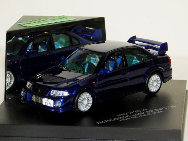 Lighting Blue Mitsubishi Lancer Sportback Ralliart Scale car 1:43