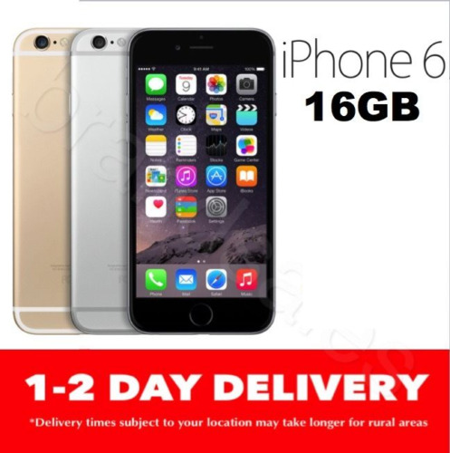 1 of 1 -  iPHONE 6 16GB LTE 4G GSM GREY GOLD SILVER  100% UNLOCKED NFS