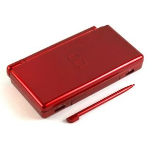 nintendo ds lite full replacement housing shell screen lens crimson red new us ebay. Black Bedroom Furniture Sets. Home Design Ideas