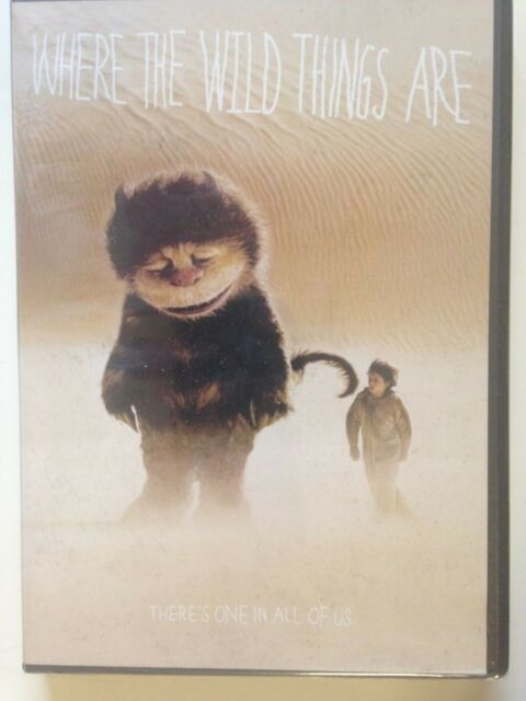 Where the Wild Things Are (DVD, 2010)(NEW) Mark Ruffalo ...