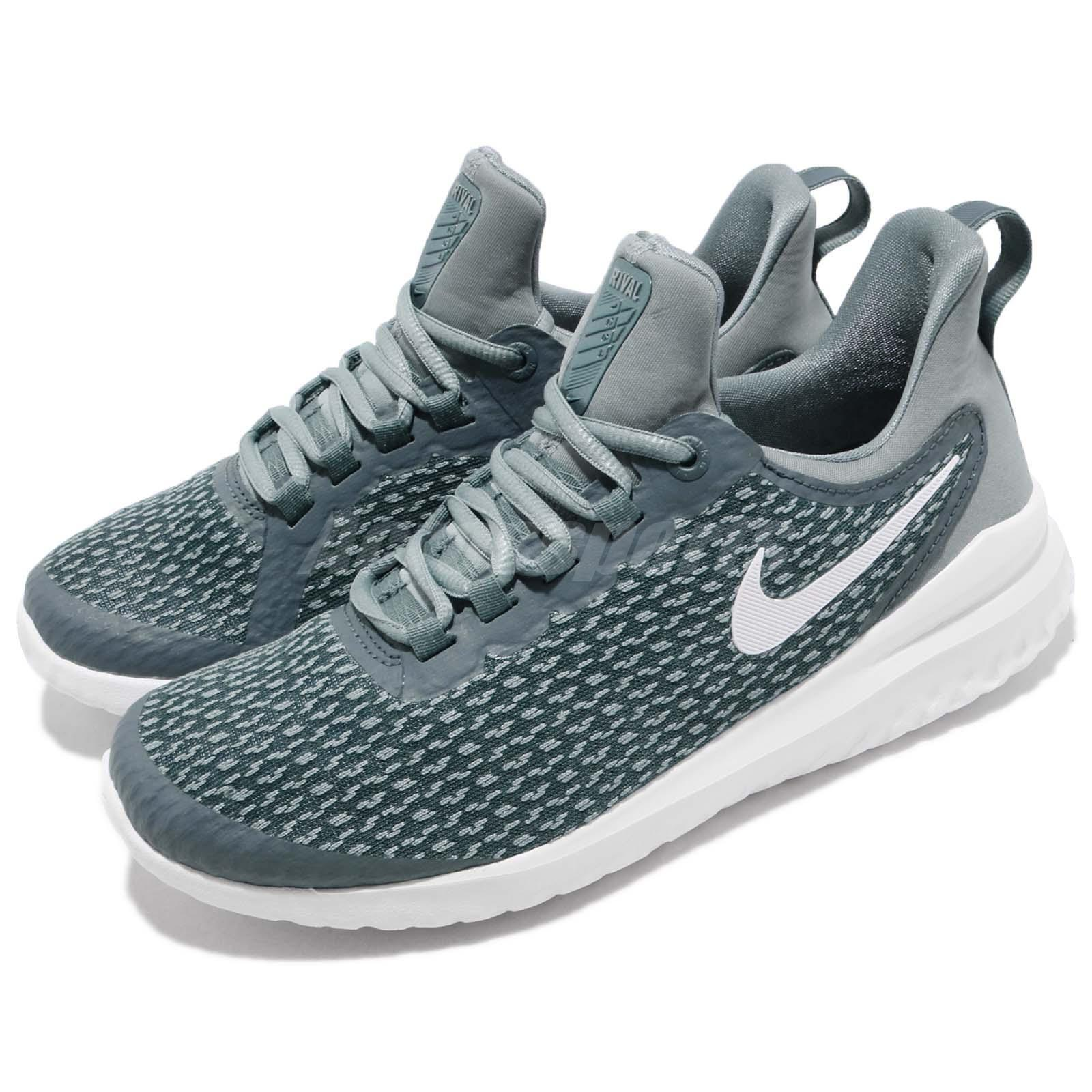7a4bf29e869 Nike Nike Nike Wmns Renew Rival Aviator Grey White Women Running Shoes  Sneakers AA7411-005 53b54a