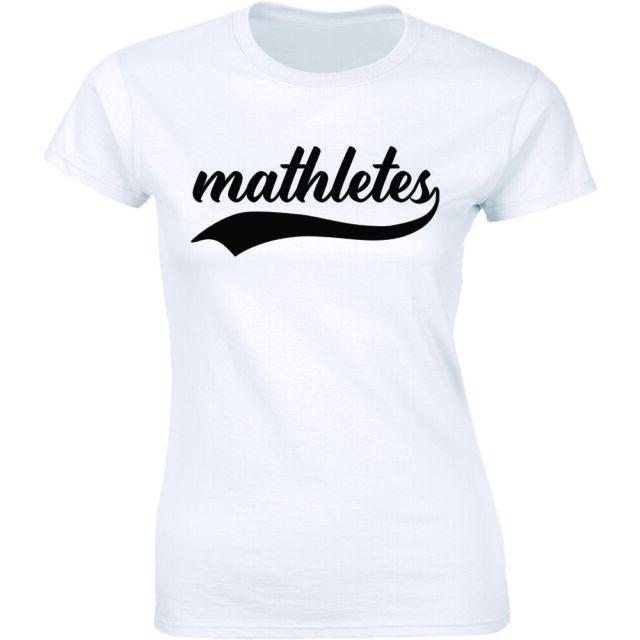 V = Pizza I Damen T-Shirt Fun Geek Nerd Teacher Maths Professor Mathematics