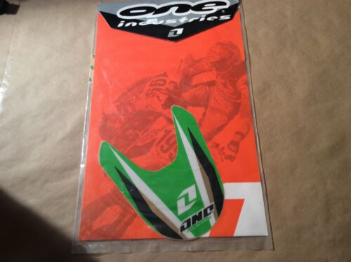 03-04  Kawasaki kx125 kx250 one industries front  Fender Graphics Decals