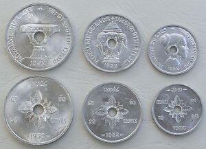 Laos-Lao-10-20-50-Cents-1952-unz