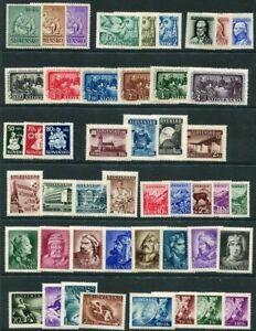 SLOVAKIA-1941-44-Range-of-complete-sets-MNH