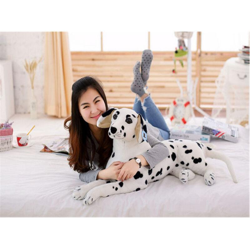 35'' Giant Big Dalmatians Dog Stuffed Soft Plush Lifelike Animal Toys Doll Gift