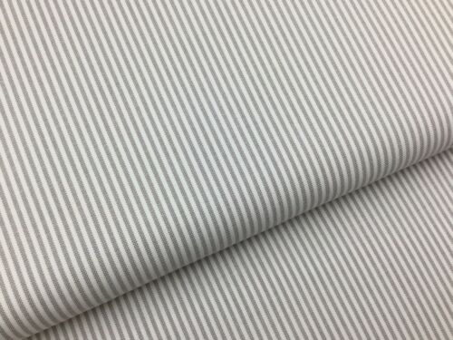 Westfalia telas algodón arena beige rayas tejidas