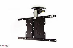Tv Tilt Swivel Flip Down Folding Cabinet Ceiling Mount Bracket Up To