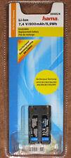 Batterie SB-LSM80 HAMA pour Samsung VP-D 351, 353, 354, 355, 454, 455, 651, ...