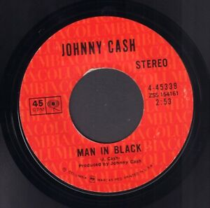 JOHNNY-CASH-Man-In-Black-1971-US-COUNTRY-VINYL-SINGLE-7-034