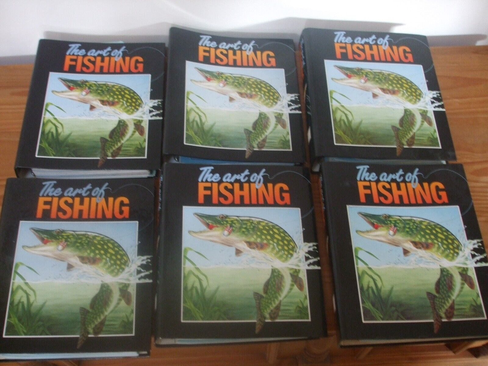 X6 BINDERS - ART OF FISHING