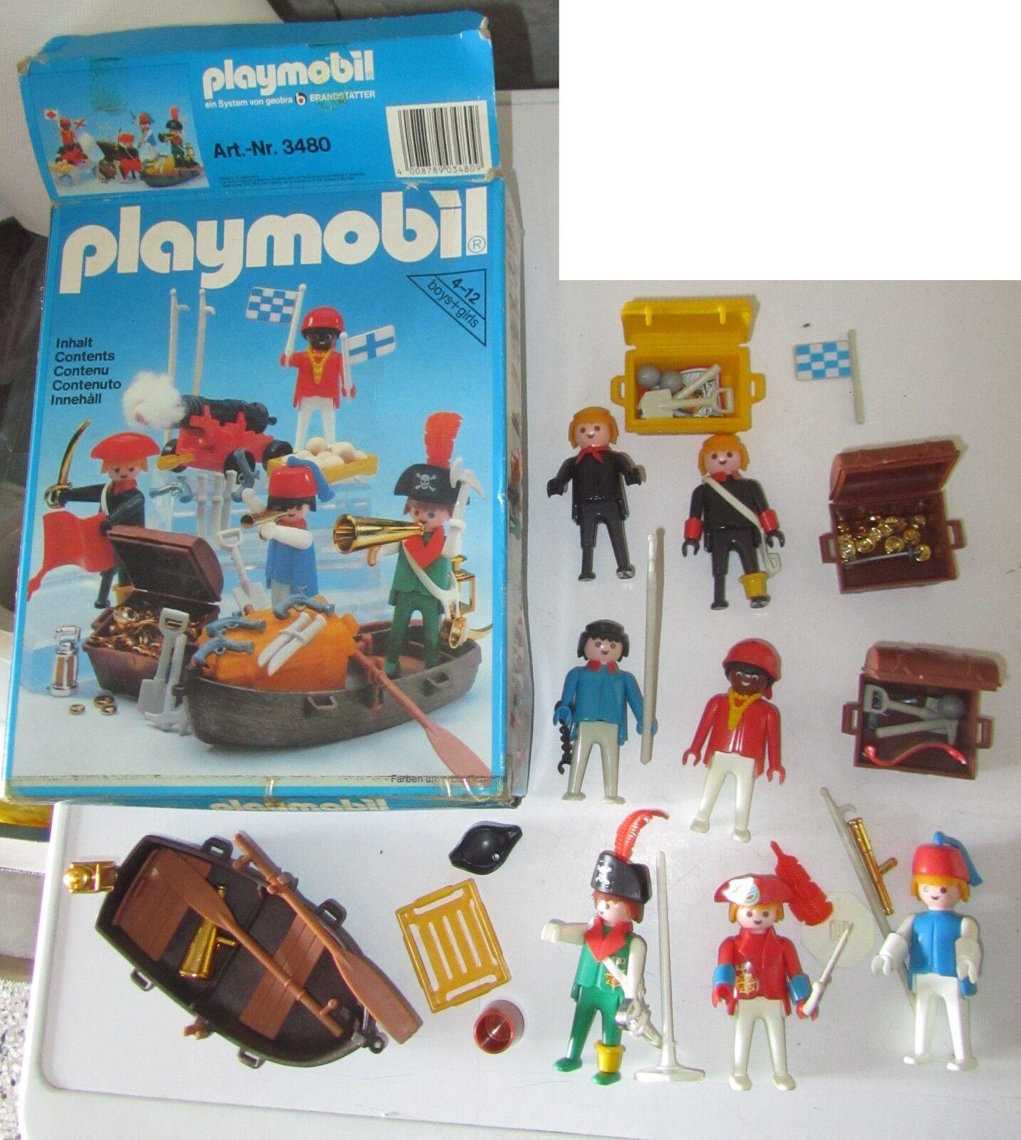 Playmobil 3480 lotto figures minifig mini fig pupazzetti personaggi Cowboy