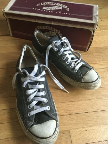 Vintage CONVERSE CHUCK TAYLOR All Star Sneakers Bl