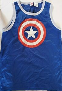 Marvel Captain America Mens Marvel Tank Top