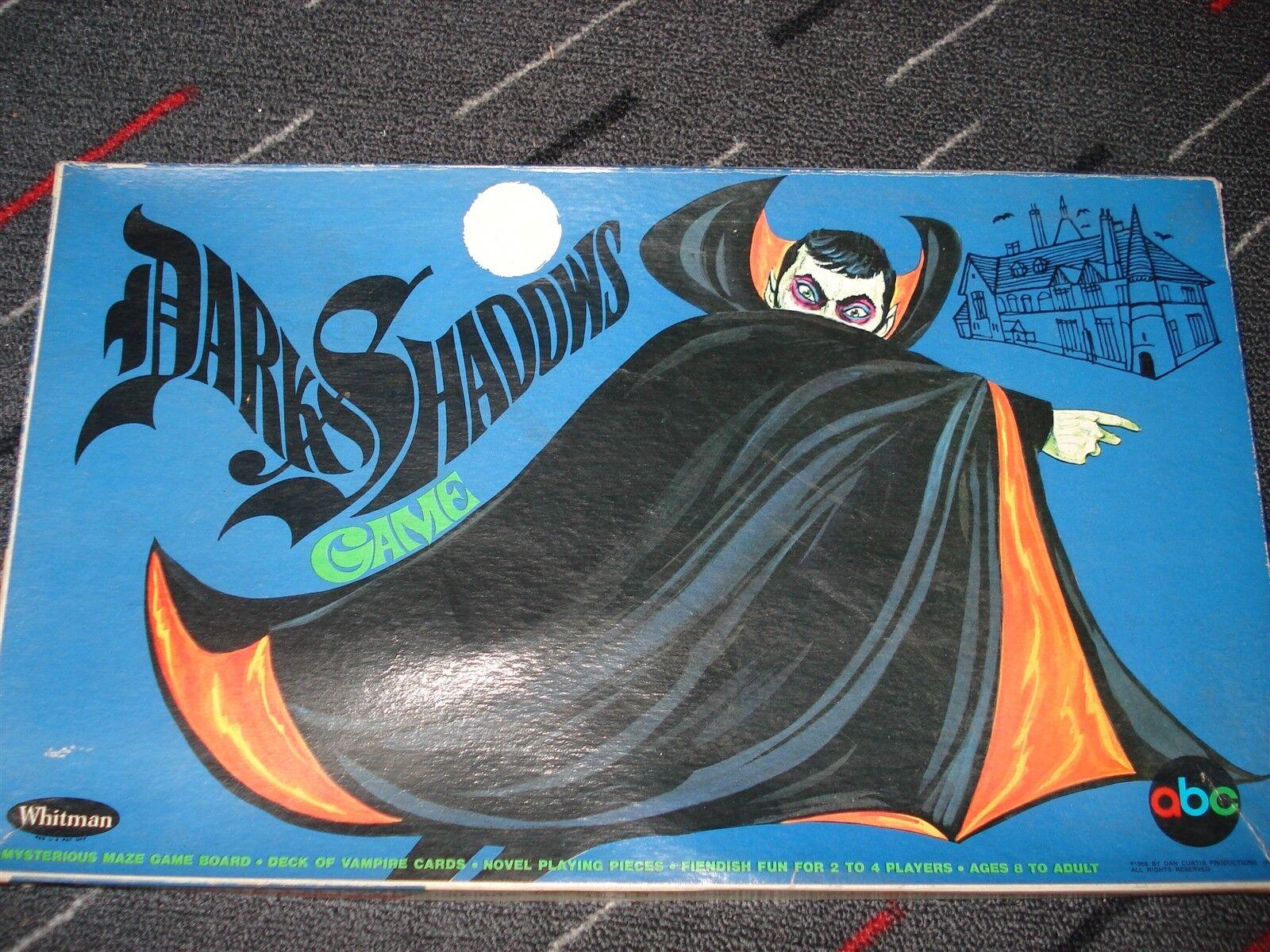 DARK SHADOWS GAME - WHITMAN - 1968 - 100% - - - DARK SHADOWS - MYSTERIOUS MAZE GAME 260951