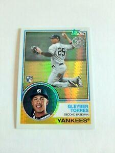Gleyber-Torres-Rookie-rc-Refractor-2018-Topps-Update-Silver-Pack-147-Yankees