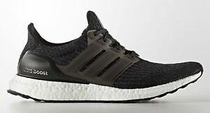 reputable site 822bf f59ab Image is loading Adidas-Ultra-Boost-3-0-Black-size-12-
