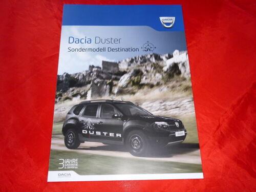"DACIA Duster /""Destination/"" Sondermodell Prospekt Brochure Depliant Folleto 2013"