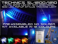 Nessuna saldatura TECHNICS SL-1200 e 1210 LED Kit con direzionale SMD LED luce STILO