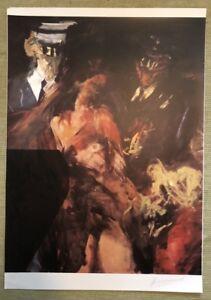 Vlado-Kristl-1972-Siebdruck-1983-handsigniert