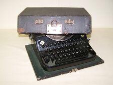alte Reiseschreibmaschine Mercedes Prima, Schreibmaschine