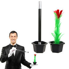 Fun Kids Toy Gift Magic Trick Show Prop Flower Feather Sticks Comedy Party Stage