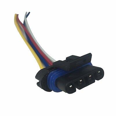 ALTERNATOR WIRE LEAD PLUG HARNESS REPAIR CONNECTOR DELCO CS130D 4 ... delphi dea 222 wiring diagram eBay
