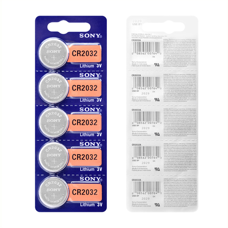 Sony CR2032 Lithium 3V Button battery