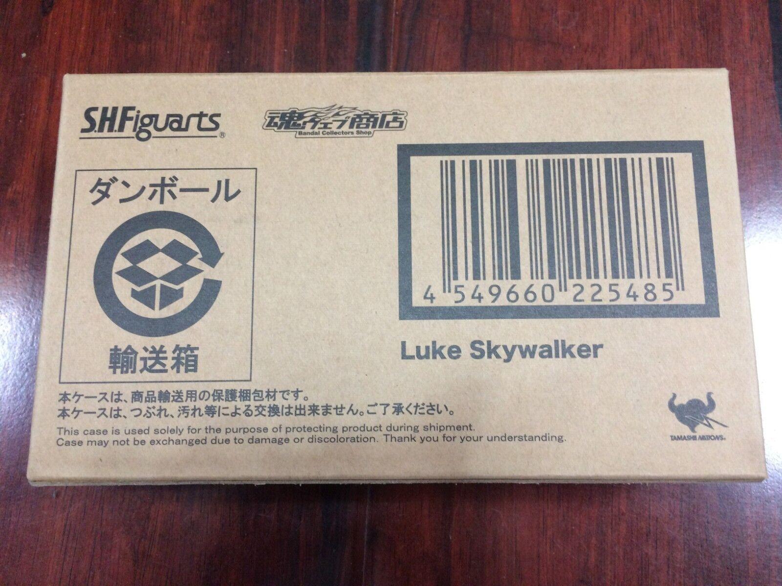 Luke Skywalker - Bandai S.H. Figuarts The Last Jedi Tamashii Tamashii Tamashii Web Exclusive 46e971