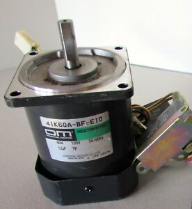 Details about Oriental Motor 41K60A-BF-E10 60W Induction Motor w/start  capacitor Japan