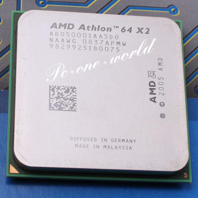 100% OK ADO5000IAA5DO AMD Athlon 64 X2 5000+ 2.6 GHz Dual-Core Processor CPU