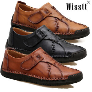 Men-039-s-Driving-Moccasins-Non-slip-Comfy-Casual-Leather-Loafers-Boat-Shoes-Slip-On