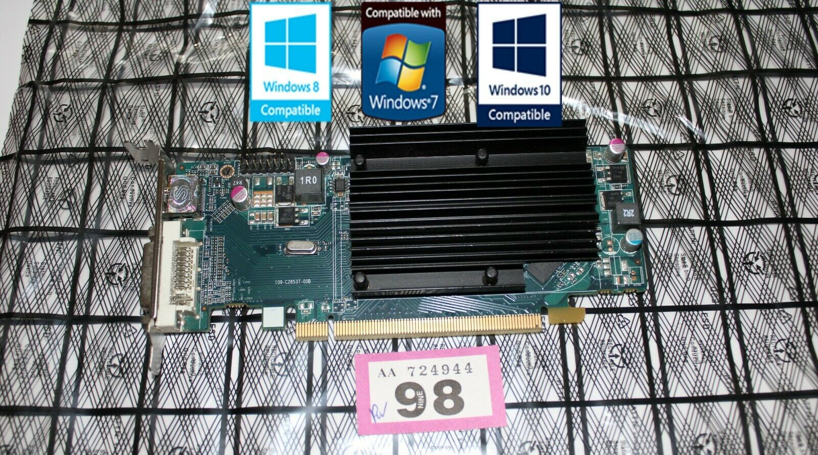 sapphire ATI AMD RADEON HD5450 1GB HDMI DVI Low profile