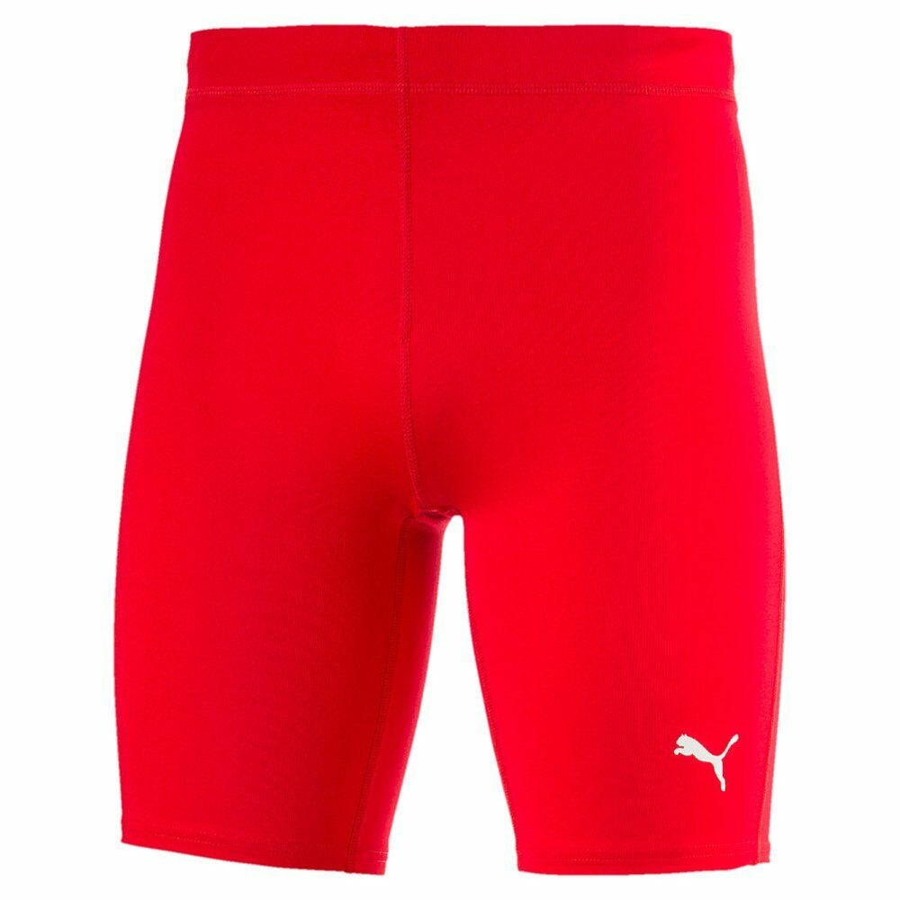 Puma Mens Sports Running Cross the Line Short Tights Jogging Workout Fitness