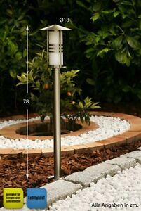 Lampadaire de jardin moderne Luminaire extérieur Borne d\'éclairage ...
