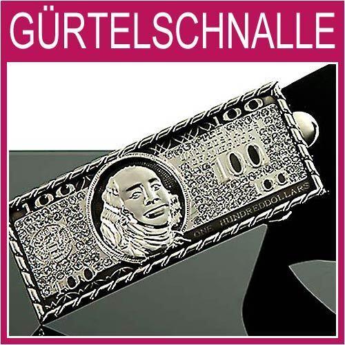 100 USD Schein Gürtelschnalle,Strass Kristalle Herren,Damen,Gürtel,BUCKLE,1G44e