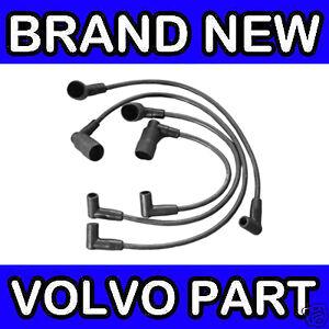 VOLVO-400-440-460-480-B18-B20-86-Ht-Ignicion-Bujia-conduce-Set