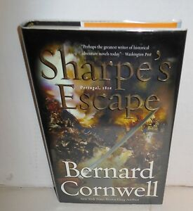 BOOK-Historical-Fiction-Sharpe-039-s-Escape-by-Bernard-Cornwell-op-1st-Ed-HB-dj