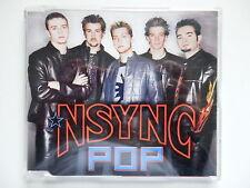 Nsync Pop 2001 Australian 4 mix rare CD single Justin Timberlake