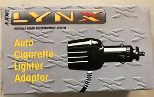Details about Atari Lynx AUTO CIGARETTE LIGHTER POWER ADAPTER NEW NIB