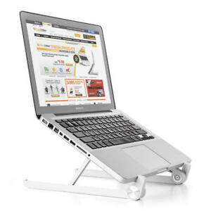 PrimeCables® 11 ~17Adjustable and Portable Laptop Stand Foldable Notebook Holder