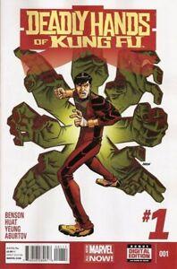 Deadly-Hands-of-Kung-Fu-2014-Ltd-1-Near-Mint-NM-Marvel-Comics-MODERN-AGE