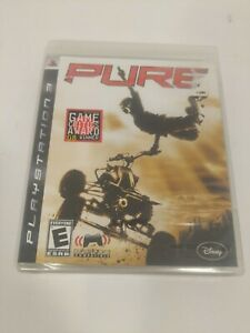 Pure (Sony PlayStation 3, 2008) New Sealed!