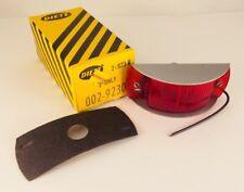 Dietz RED Lens Flush Mount Marker Lights for Travel Trailer /& RV New Old Stock