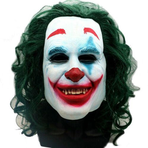 Homme 2019 Film Clown Fancy Dress Costume Halloween Joker Costume Costume