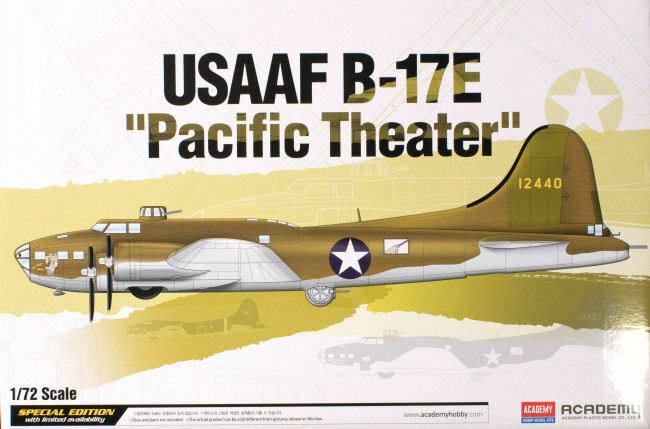 Academy 12533 1 72nd scale B-17E USAAF Pacific Theatre