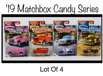 Matchbox Butterfinger Chevy AD 3100 /& Laffy Taffy Silverado Candy series 2019