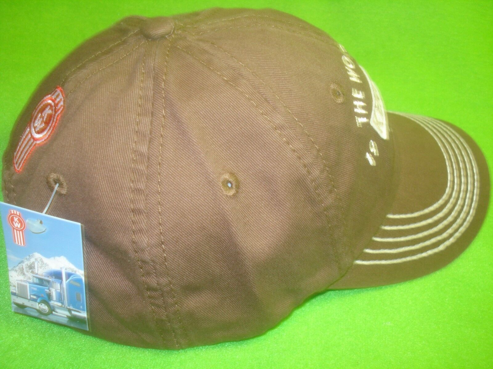 KENWORTH HAT  THE WORLD S BEST 1923 FREE SHIPPING TO U.S.A. 370700 ... f065d7a0fd3