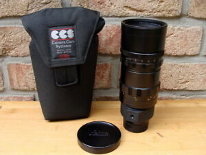 Leitz-Canada-Leitz-Leica-Telyt-M-1-4-8-280mm-schwarz-034-aus-Sammlung-034-TOP